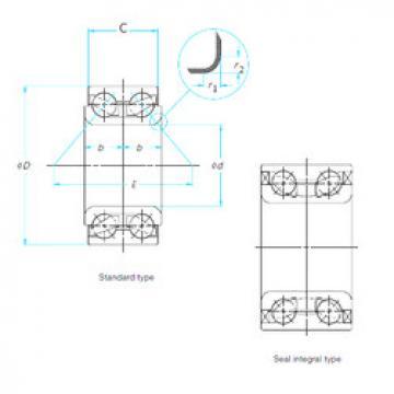 Bearing ZA-45BWD03CA101** NSK