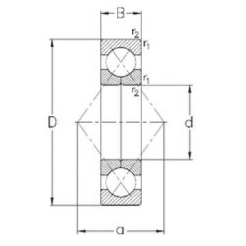 Bearing QJ307-MPA NKE