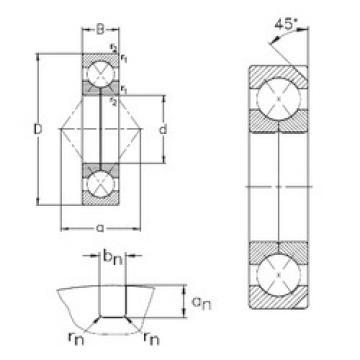 Bearing QJ220-N2-MPA NKE