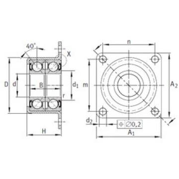 Bearing ZKLR2060-2RS INA