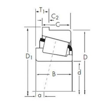 Bearing 93800/93125-B Timken