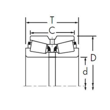 Bearing 87762/87112DC+X1S-87762 Timken