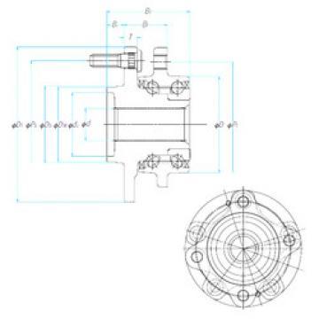 Bearing ZA-62BWKH10D-Y-5CP01 NSK