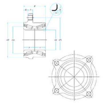Bearing ZA-54KWH02D-Y-2CA-01 NSK
