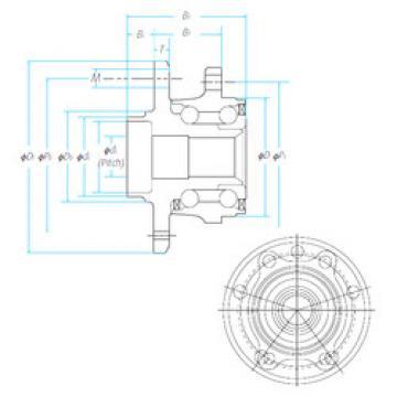 Bearing ZA-62BWKH01A1-Y-01 E NSK