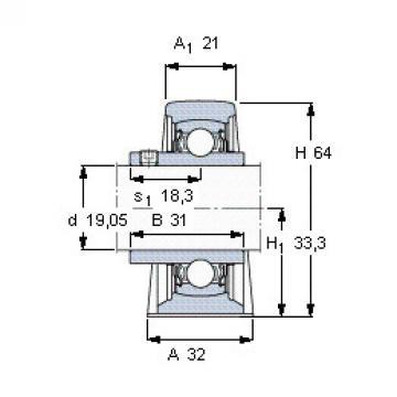 Bearing YAR 204-012-2FW/VA201 SKF