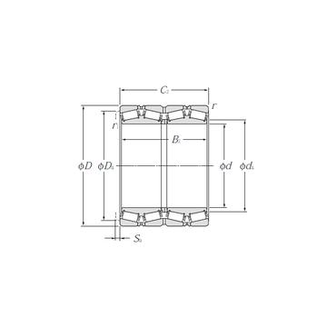 T-E-M231649D/M231610/M231610D NTN Tapered Boller Bearings