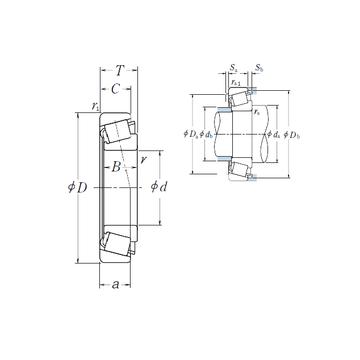 HR30305J NSK Tapered Boller Bearings