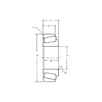 529/522 FBJ Tapered Boller Bearings