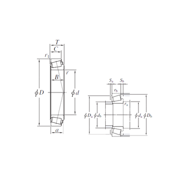 HM231149/HM231110 KOYO Tapered Boller Bearings