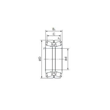 110KBE03 NACHI Tapered Boller Bearings