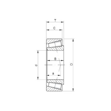 322/22 ISO Tapered Boller Bearings