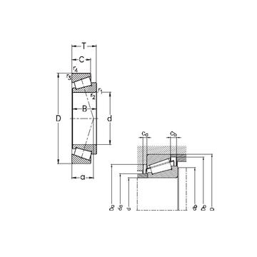 32017-X NKE Tapered Boller Bearings