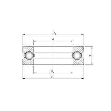 51424 CX Thrust Ball Bearings #5 image