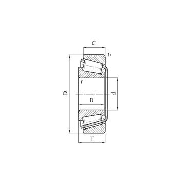 31318 CYSD Tapered Boller Bearings #5 image